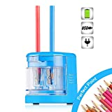 SMARTRO Electric Pencil Sharpener, Best USB or Battery Operated for No.2 and Colored Pencil