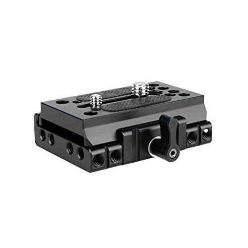 NICEYRIG-Quick-Release-Base-with-Plate-Applicable-Camera-DSLR-15mm-Rail-Support-System-Compatible-with-Manfrotto-577-501-504-701
