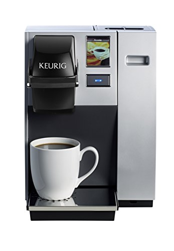 Keurig K150 Single Cup Commercial K-Cup Pod Coffee Maker, Silver(Direct plumb kit not included)