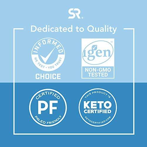 Collagen Peptides Powder 'XL' Jar 32oz | Non-GMO Verified, Certified Paleo Friendly & Gluten Free - Unflavored 6