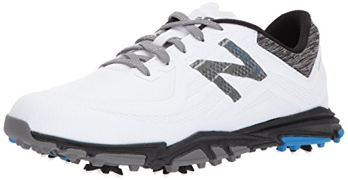 New Balance Men's Minimus Tour Golf Shoe White/Black 10.5 D D US