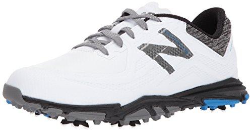 New Balance Men's Minimus Tour Golf Shoe White/Black 10.5 D D US