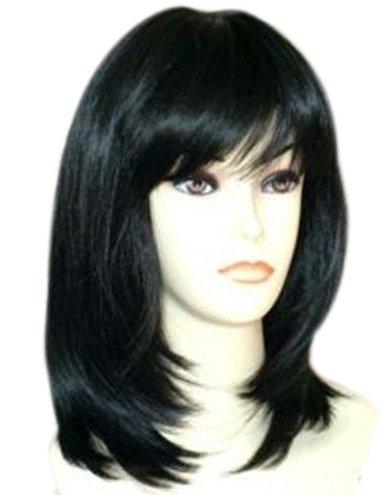 Straightened Long Layered Black Hair 57