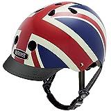 Nutcase - Patterned Street Bike Helmet for Adults, Union Jack, Small