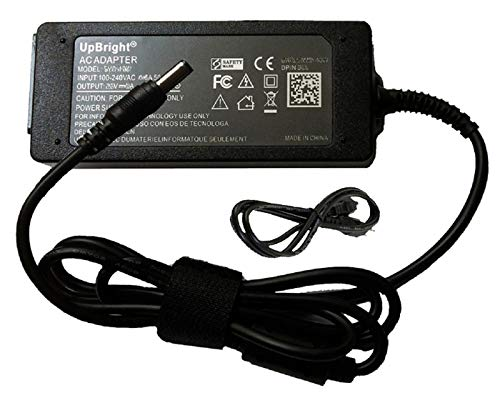 UpBright New Global AC/DC Adapter Output:15V 4A P/N:D80-60W for Pakon, Nexlab, Kodak F135 Plus & Non-Plus 35mm Film Scanner 15VDC 4000mA 60W Power Supply Cord Cable PS Battery Charger Mains PSU