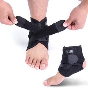Ankle Support Brace, Breathable Neoprene Sleeve, Adjustable Wrap! 41bln23bzKL