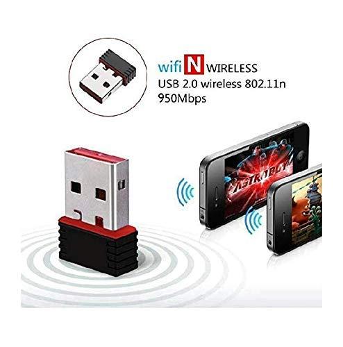 Tablor WiFi Adaptor 950mbps Wireless N Mini USB WiFi Adapter 802.11n/g/b. 4