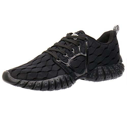 Aleader Women's Lightweight Mesh Sport Running Shoes Carbon Black 7.5 D(M) US