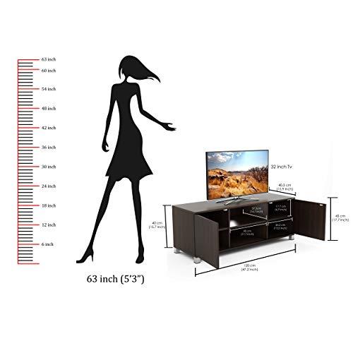 BLUEWUD-Harmond-Engineered-Wood-TV-Entertainment-Unit-TableSet-Top-Box-Stand-Wenge