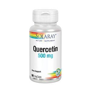 Solaray Quercetin 500mg, Quercetina, 90 VegCaps