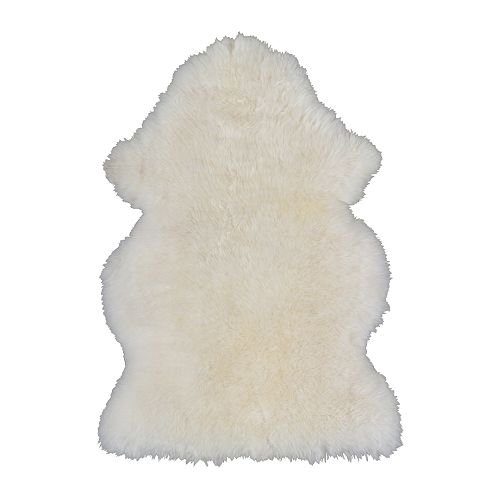 Ikea Rug Sheepskin Rens Smaller Size Accent Rug
