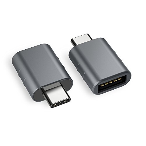 Syntech USB C to USB Adapter [2-Pack], Thunderbolt 3 to USB 3.0 Adapter Compatible MacBook Pro 2019/2018/2017, MacBook Air 2018, Pixel 3, Dell XPS, and More Type-C Devices