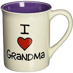 """I Heart Grandma"" Stoneware Mug, 16 oz."