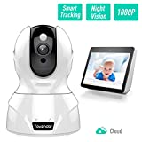 Wireless IP Camera, Tovendor 1080P Wireless Security Camera with Cloud Storage, Pan/Tilt/Zoom, Two-Way Audio, Motion Detection, Night Vision for Baby/Elder/Pet Monitor - Works with Echo Show