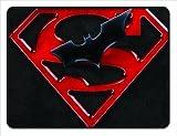 World Sports Superman Batman Will Come 18x24 Floormat