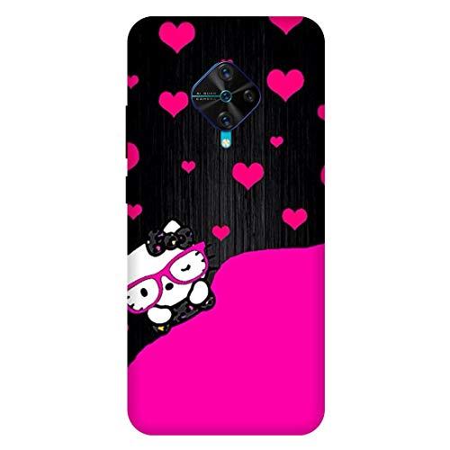 Kitty :: Cute :: Cartoon :: VIVO S1 PRO Multicolor Mobile Back Cover 1