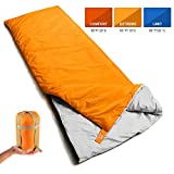 Bessport Mummy Sleeping Bag 14 Degree F- 4 Season Backpacking Sleeping Bag for Adults & Kids - Lightweight Warm and Washable, for Hiking Traveling & Outdoor Activities