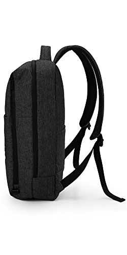 41cKU2Q9nBL - WAABI-SAABI Polyester Grey Laptop Backpack