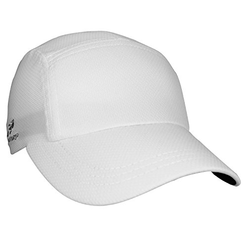 Headsweats Performance Race/Running/Outdoor Sports Hat, White