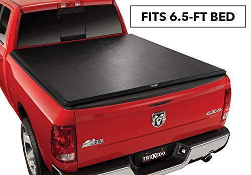 TruXedo TruXport Soft Roll-up Truck Bed Tonneau Cover | 246901 | fits 10-18 Ram 2500/3500 6'4' Bed