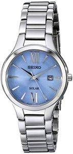 Seiko Women's SUT209 Analog Display Analog Quartz Silver Watch