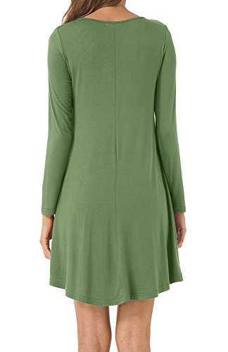 8359f8d3c8f8 Long Tunic Dress Loose Shirts Women for Spring Summer Fall Winter ...