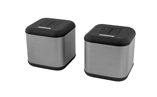Magnavox - MMA3627 Pair of DSP 360 Bluetooth Stereo Speakers with Independent and True Stereo Dual Speaker Capabilities