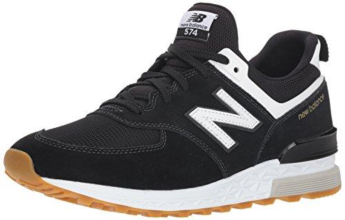 New Balance Men's 574v1 Fresh Foam Sneaker, Black, 10.5 D US