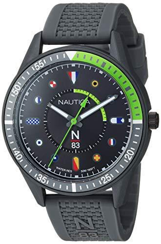 NAUTICA Analog Black Dial Men's Watch-NAPSPS902
