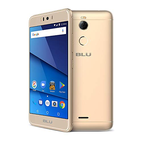 BLU R2 R0172WW 5.2' GSM Unlocked 32GB - 2GB RAM Dual Sim 4G LTE 13MP Android (Gold)