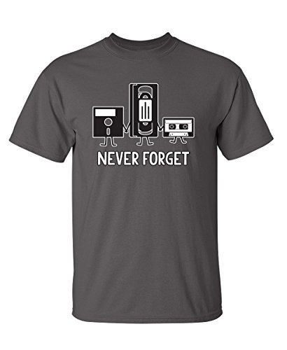 Never Forget Sarcastic Graphic Music Novelty Funny T Shirt 1 Fashion Online Shop 🆓 Gifts for her Gifts for him womens full figure