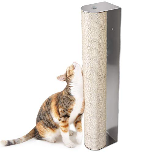 Pedy Cat Scratching Post, Sisal Scratching Post Wall Mounted (Scratcher)