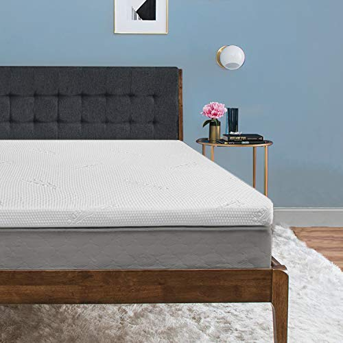 Tempur-Pedic TEMPUR-ProForm Supreme 3-Inch Queen Mattress Topper, Medium Firm Luxury Premium Foam, Washable Cover