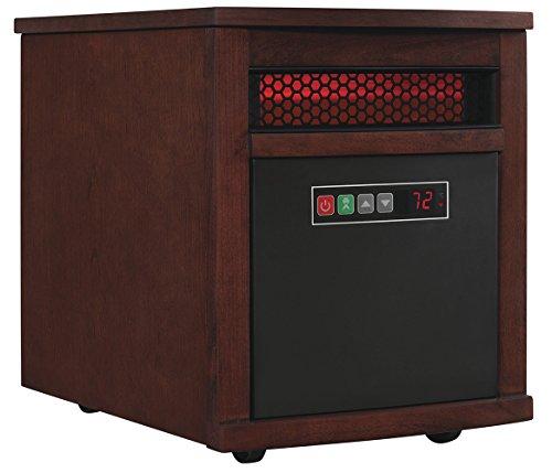 Duraflame 9HM8101-O142 Portable Electric Infrared Quartz Heater, Oak