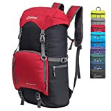 ZOMAKE 40L Water Resistant Hiking Daypack, Lightweight Packable Travel Backpack for Outdoor, Camping, Trekking