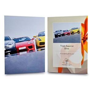 Activity Superstore Driving Experience Days Gift Experience Voucher – Triple Supercar, Why choose one supercar when you can drive three! Choose from 16 amazing tracks nationwide