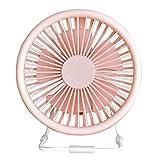 Weiliru Rechargeable,Elegance & Performance Adjustable Pedestal Fan, Mini USB Desk Fan