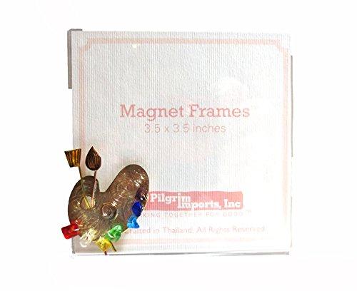 3.5 x 3.5 Magnet Frame with Art Palette