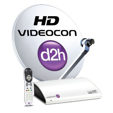 Videocon D2H HD Digital Set Top Box with 1 month popular pack free 1