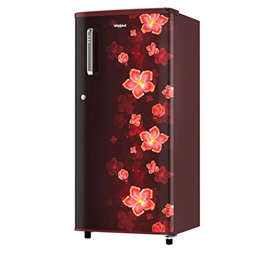 41d9OK6RPkL Whirlpool 190 L 3 Star Direct-Cool Single Door Refrigerator (WDE 205 CLS PLUS 3S WINE TWINKLE, Wine Twinkle)
