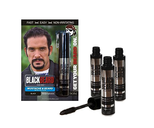 Blackbeard for Men - 3-pack (Black)