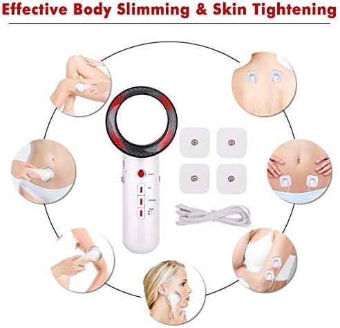 Fat Burning Machine 3 in 1 Multifunctional EMS Infrared Massager Fat Remover Weight Loss Machine for Stomach Belly Arm Leg Hip Burn Fat Device 6