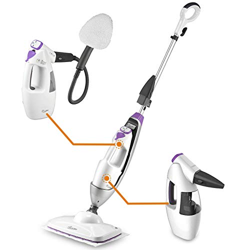 LIGHT 'N' EASY Steam Mop Floor Steamer Cleaner Multifunctional Garment Steaming All in 1 Cleaning for Hardwood Tile Laminate Floors
