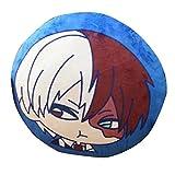 Raleighsee My Hero Academia Animation Around Plush Pillow Izuku Midoriya/Bakugou Katsuki/Todoroki Shoto/OCHACO URARAKA Novelty Anime Cartoon Image Pillow Anime Fans Gift-35cm/14''(H03)