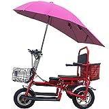 LOLOP Cruising Range 55 Km Elderly Folding Electric Tricycle Adult Portable Three-Wheel Electric Vehicle,40KM