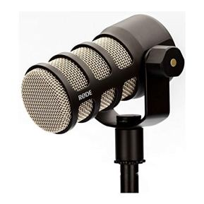 Rode-PodMic-Dynamic-Podcasting-Microphone-Bundle-with-Knox-Studio-Headphones-and-Kirlin-25-Foot-Cable-3-Items
