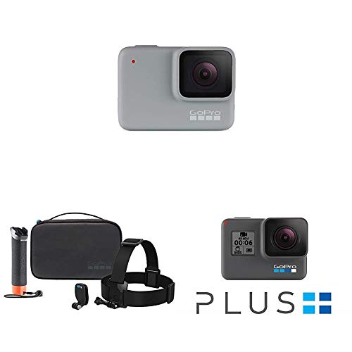 GoPro White Waterproof Digital Action Camera with Touch Screen 1440p HD Video 10MP Photos