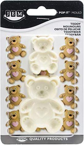 Stampi Forma di Orsetto per Cake Design