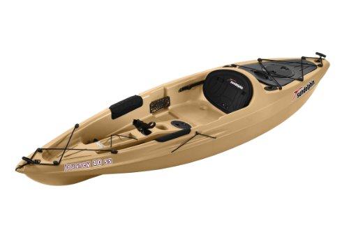 Sun Dolphin Journey Sit-on-top Fishing Kayak (Sand, 10-Feet)