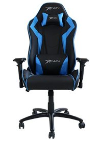Ewin Chair Champion Series CPA Ergonomic Office Computer Gaming Chair with Pillows (Black/Blue)